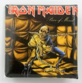 Iron Maiden - 'Piece of Mind' Square Badge